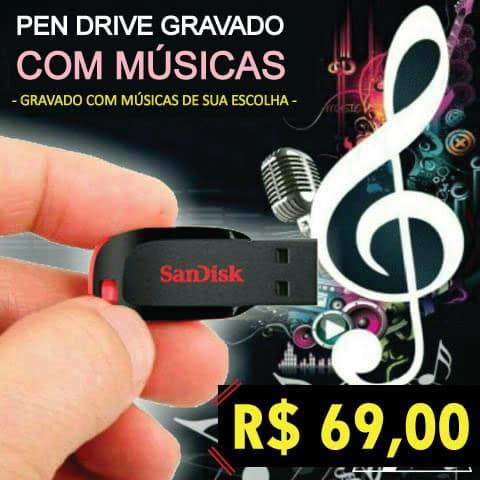 <h1>Pen Drive com Músicas – ESCOLHA OS ESTILOS</h1>